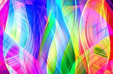 Colorful curves wallpapers