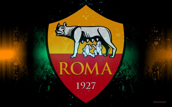 A.S. Roma football logo wallpaper