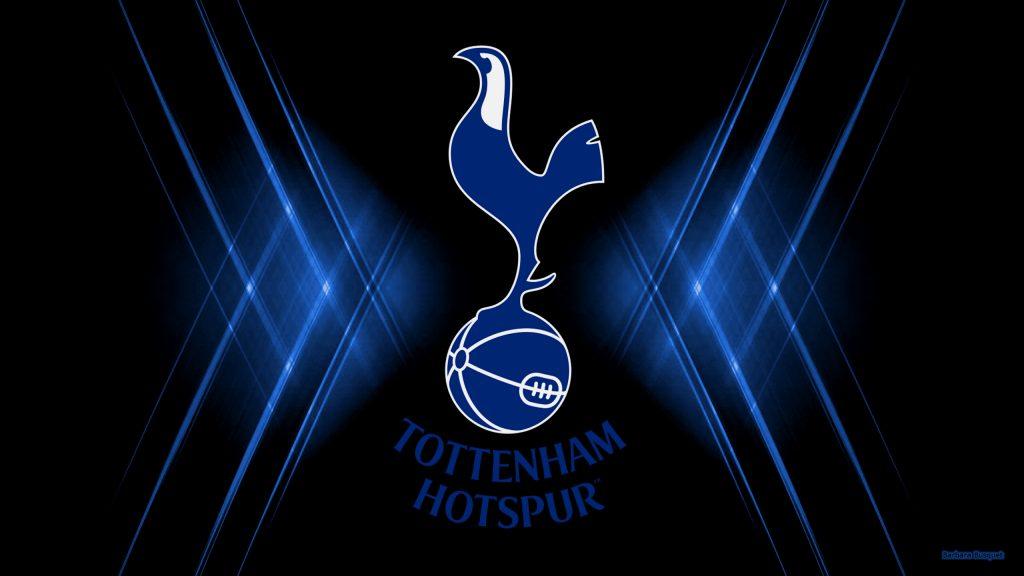 Black blue Tottenham Hotspur football club wallpaper