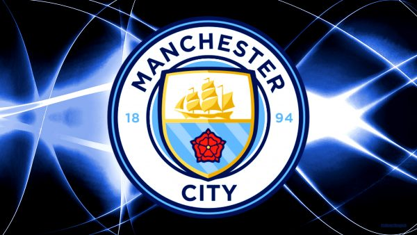Dark blue Manchester City football club wallpaper