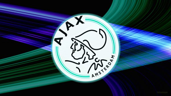 Blue green Ajax football wallpaper