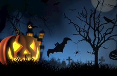 Halloween wallpapers with pumpkins