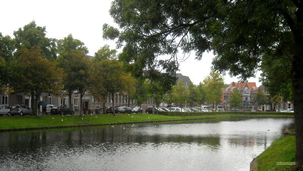HD wallpaper with canal in The Netherlands