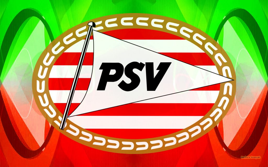 Red green PSV Eindhoven wallpaper.