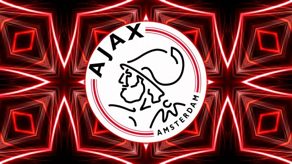 Red black Ajax wallpaper