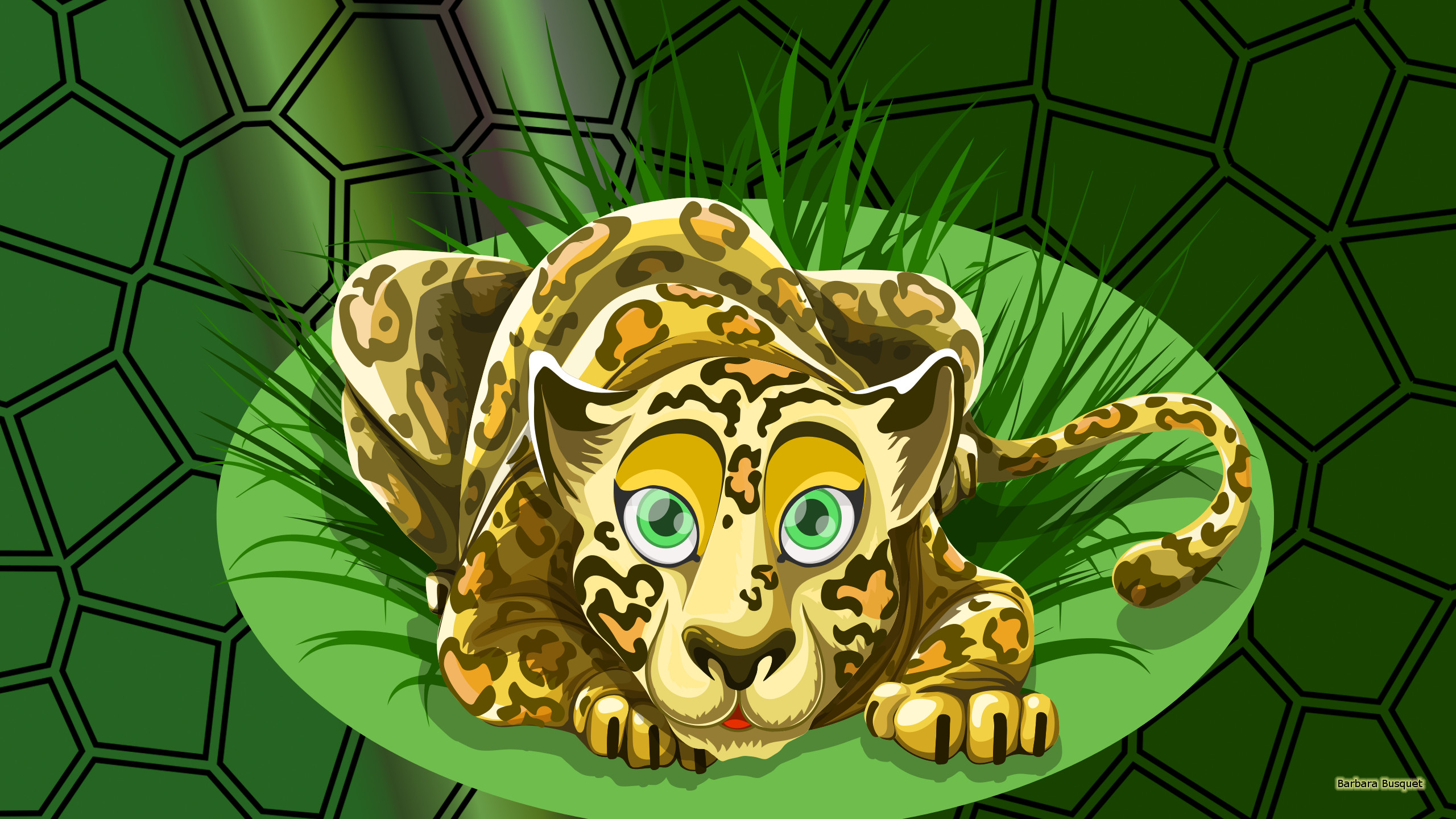 Leopard With Green Eyes Barbaras Hd Wallpapers