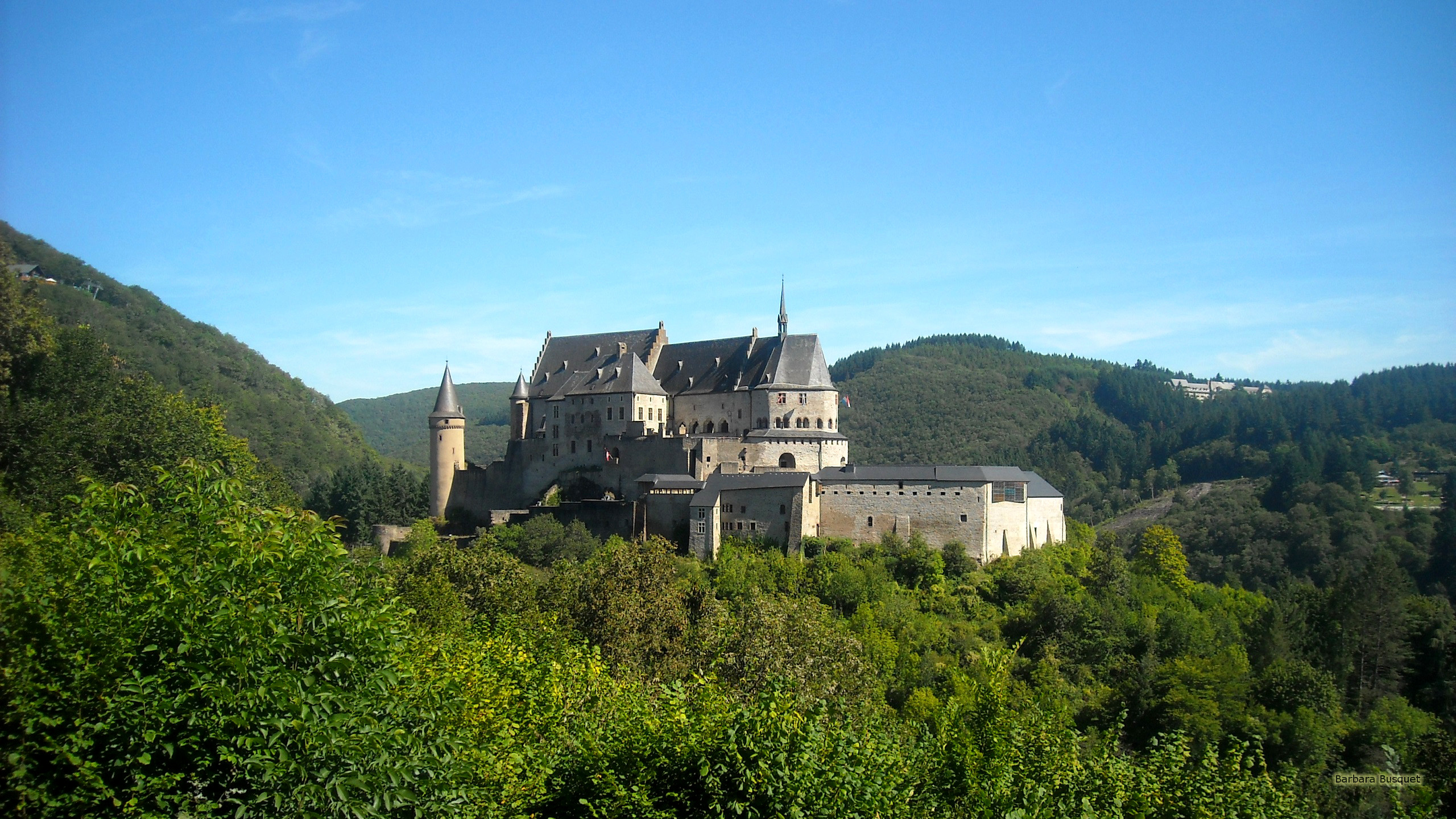 Castle In Luxembourg Barbaras Hd Wallpapers