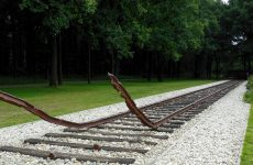 Railway track in The Netherlands