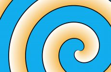 Spiral pattern wallpapers