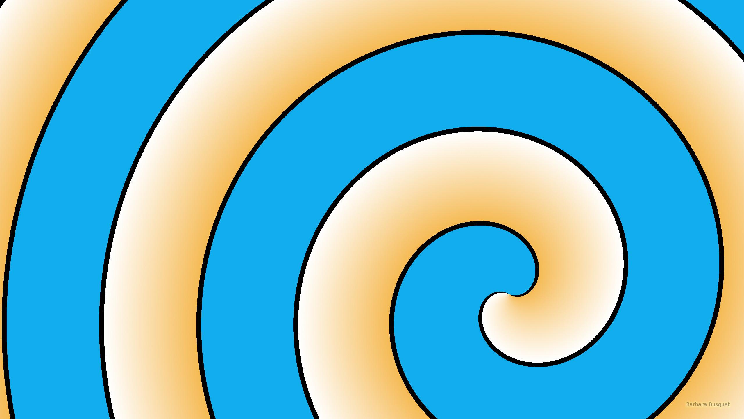 Blue Spirals Wallpapers: Spiral Pattern Wallpapers