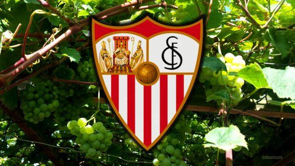 Sevilla FC logo wallpaper