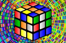 Rubiks cube wallpaper