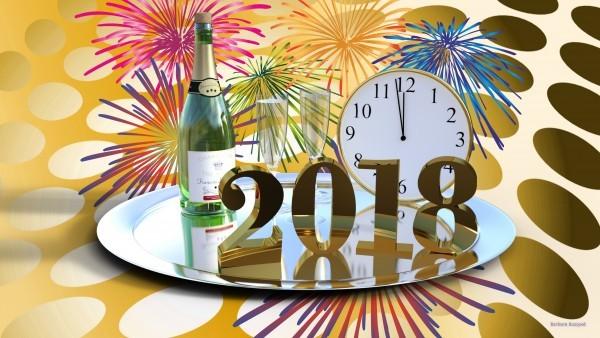 retro happy new year wallpaper