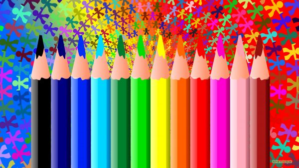 HD wallpaper pencils and children