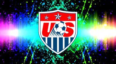 America National Soccer Team logo wallpaper
