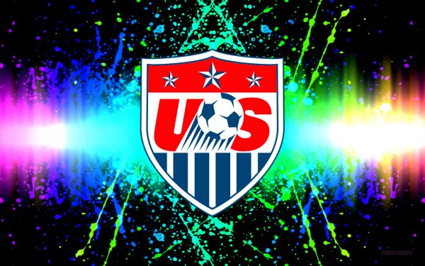 America National Soccer Team logo wallpaper