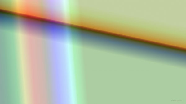 Abstract wallpaper with diagonal line and rainbow