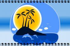 Desert island wallpapers