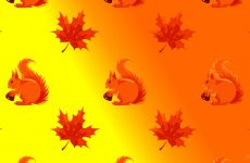 Fall pattern wallpapers