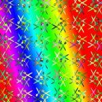Scissors pattern wallpaper