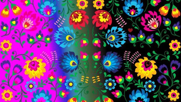 HD wallpaper flower pattern