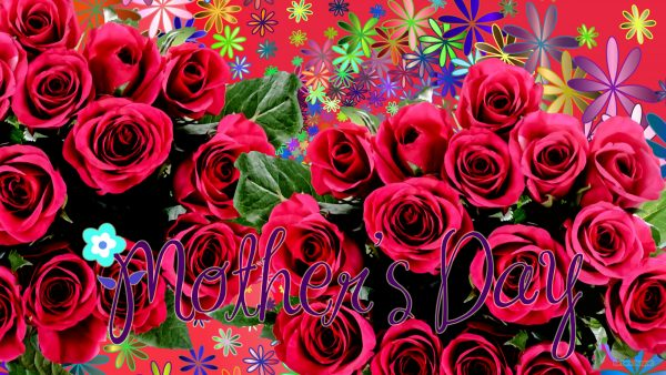 Mother's Day wallpaper with roses