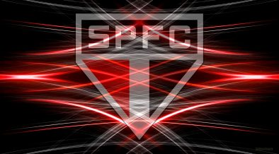 Black red Sao Paolo FC desktop wallpaper