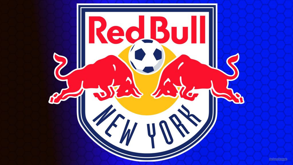 Blue New York Red Bulls football club wallpaper