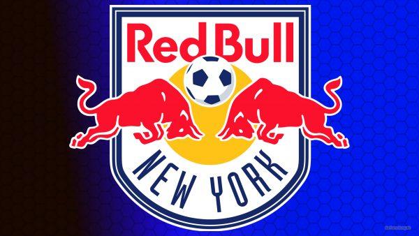 Blue New York Red Bulls football club wallpaper