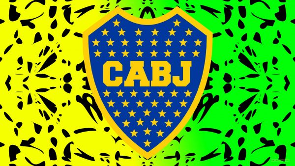 CA Boca Juniors logo wallpaper