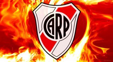 CA River Plate fire wallpaper