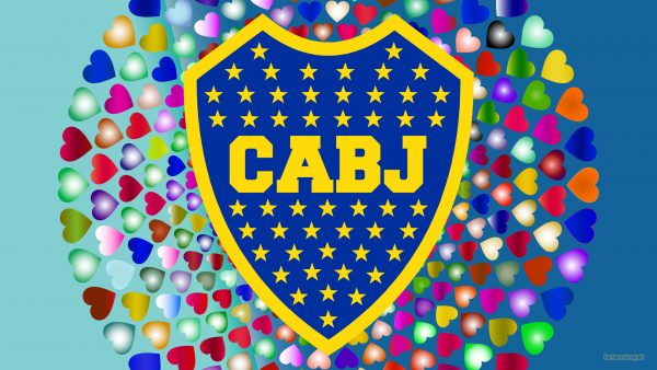 Ca Boca Juniors wallpaper hearts