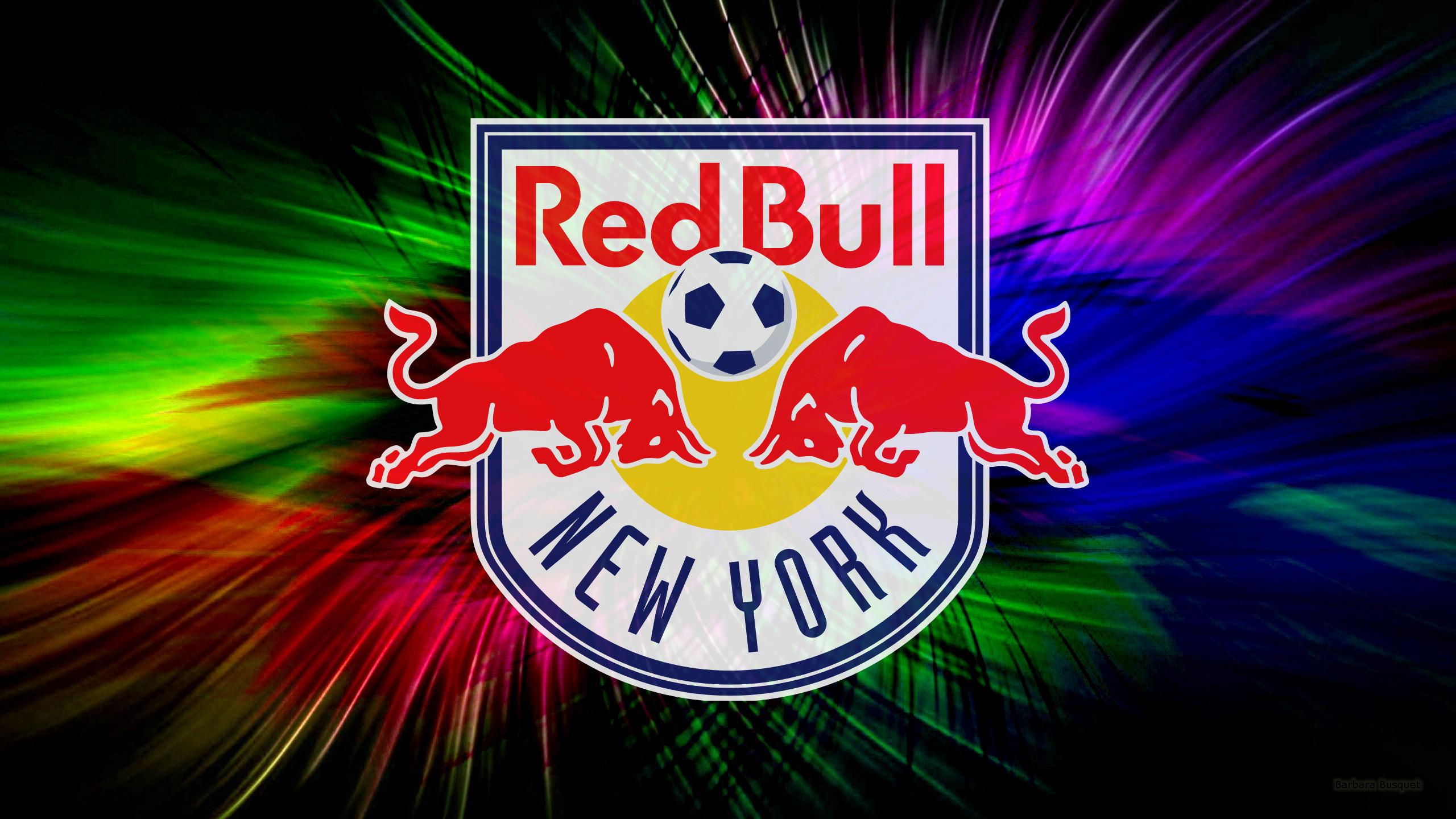 Colorful New York Red Bulls Wallpaper