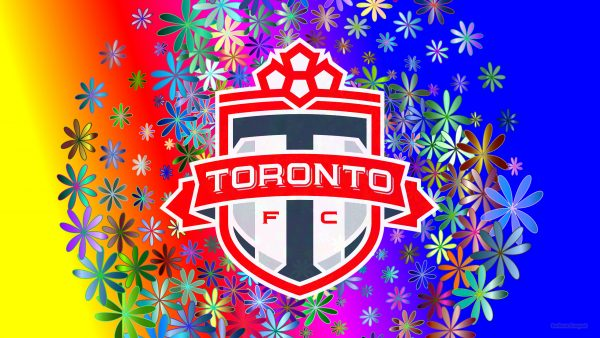 Colorful Toronto fc wallpaper flowers
