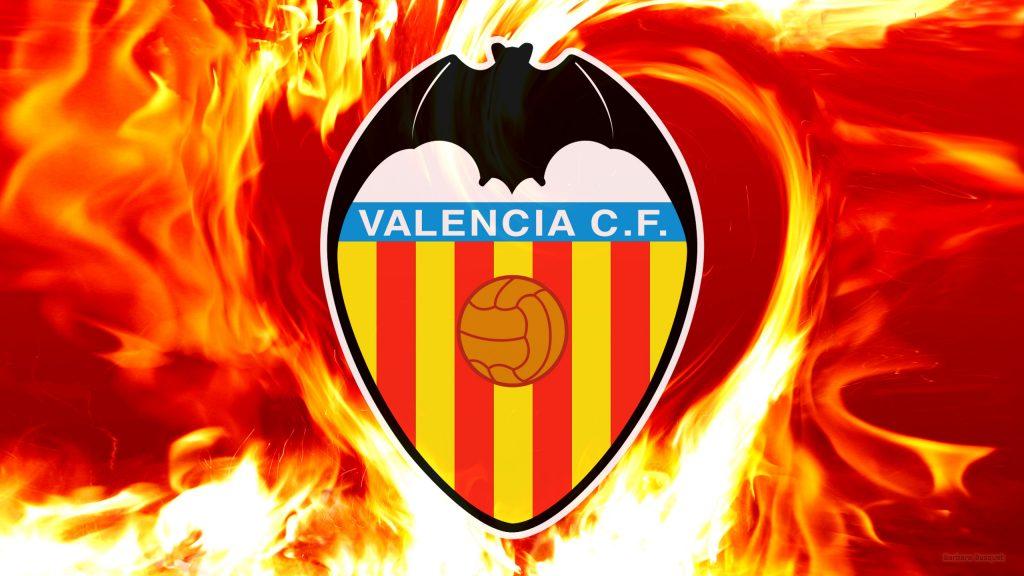 Hot Valencia FC fire wallpaper