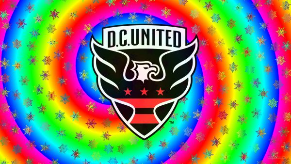 DC United logo wallpaper ice stars