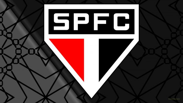 Dark Sao Paolo FC logo wallpaper