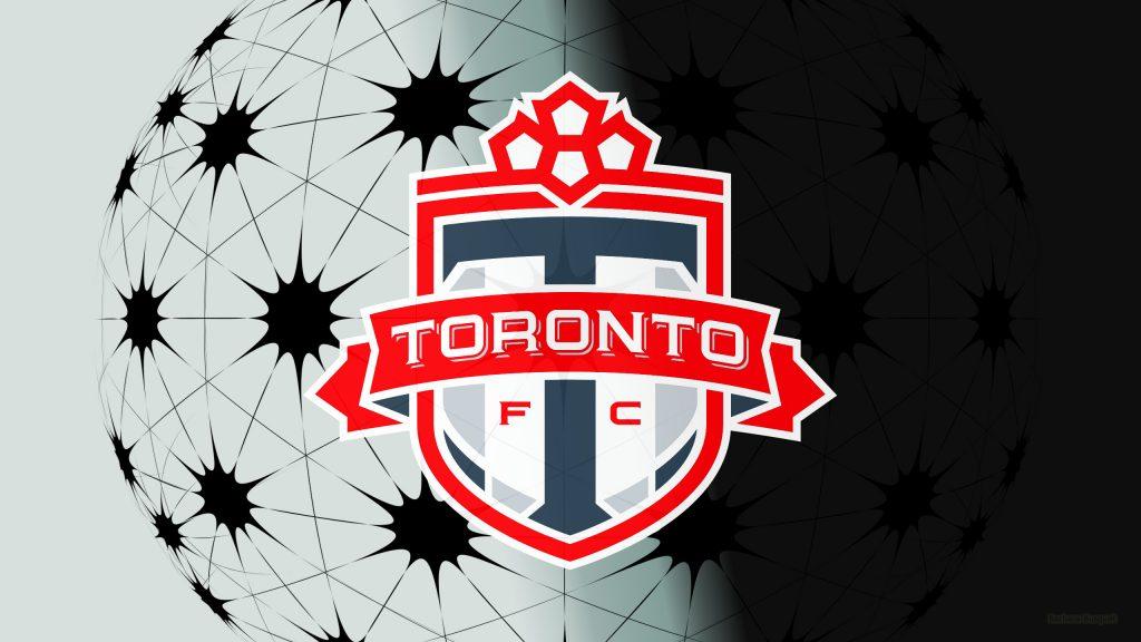 Gray Toronto fc logo wallpaper