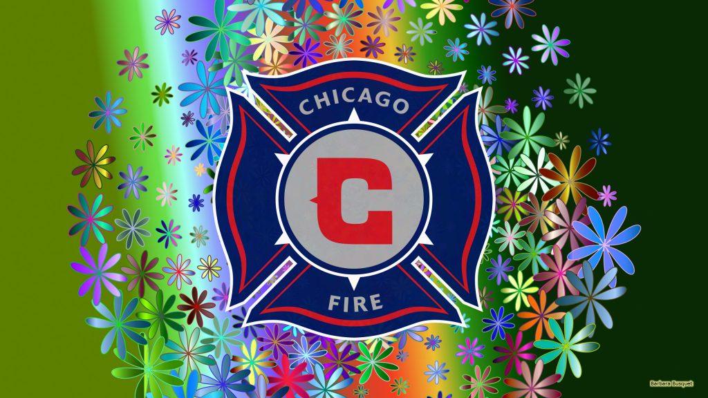 Green Chicago fire fc wallpaper flowers