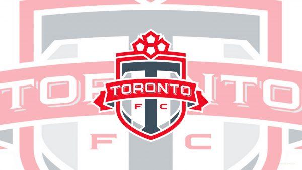 Light FC Toronto logo wallpaper