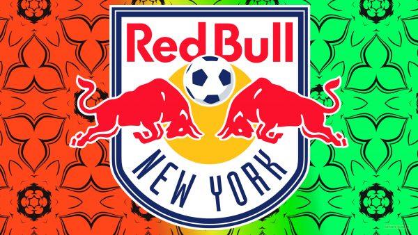 New York Red Bulls logo wallpaper