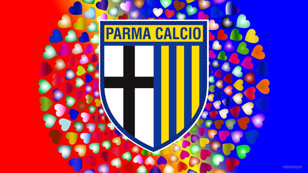 Parma Calcio logo wallpaper hearts