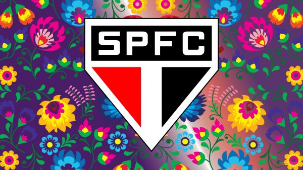 Purple Sao Paolo FC wallpaper flowers