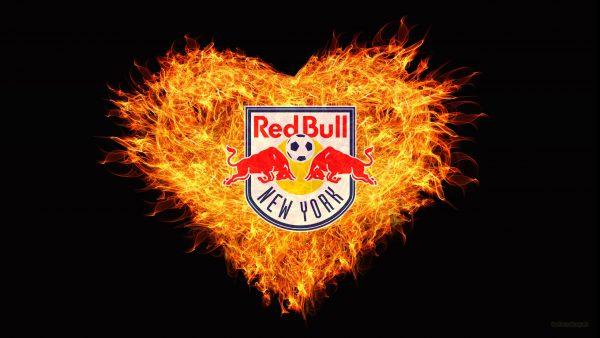 Red Bull New York fire wallpaper