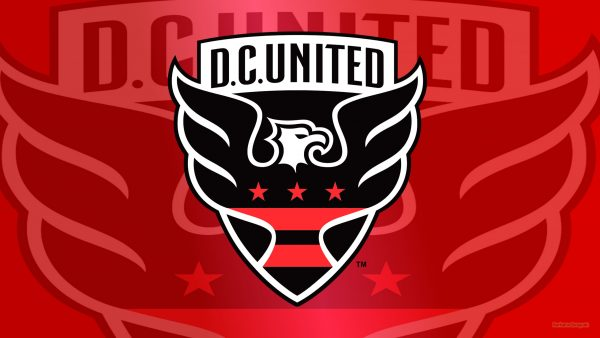 Red DC United logo wallpaper