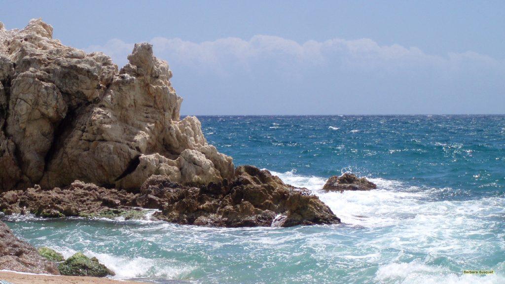 Spanish ocean and beach