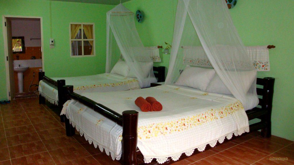 Hotel Bedroom in Thailand