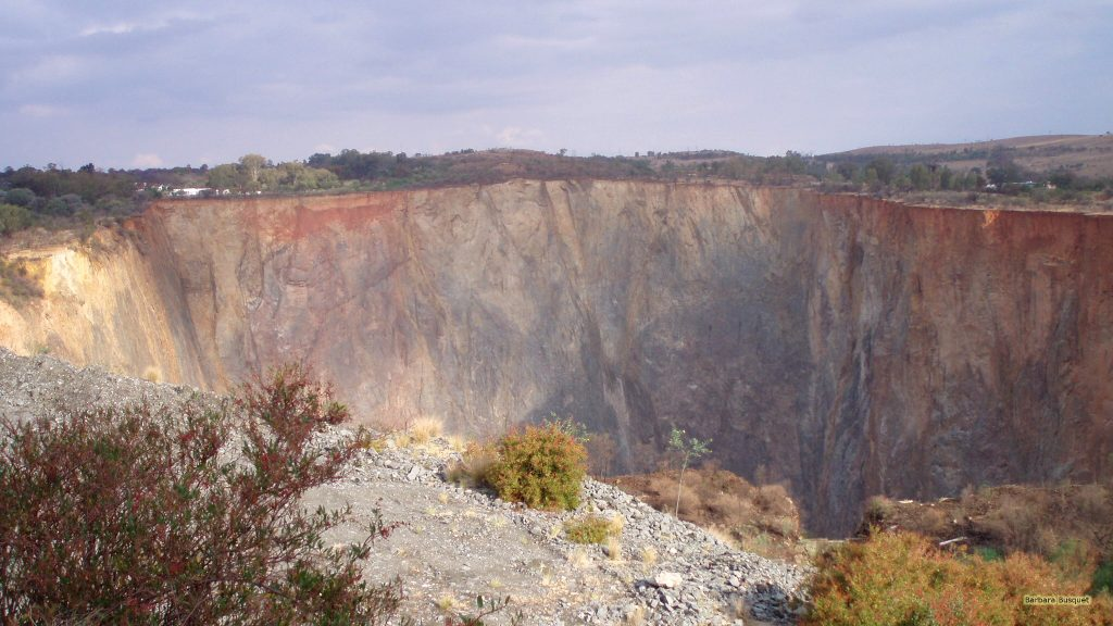 Open-pit mining South Africa