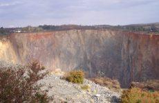 Open-pit mining wallpaper