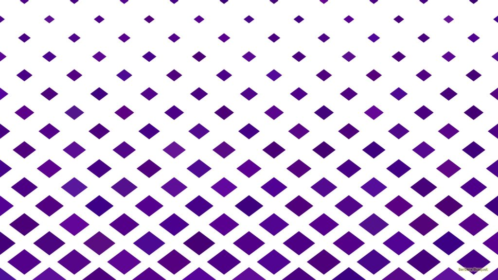 Purple white wallpaper with diamonds